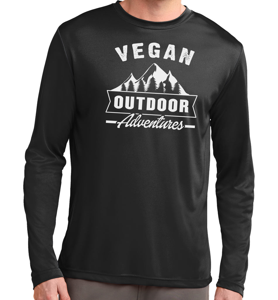 Vegan Outdoor Adventures Long Sleeve Tech Tee