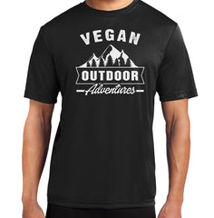 Vegan Outdoor Adventures Short Sleeve Tech Tee