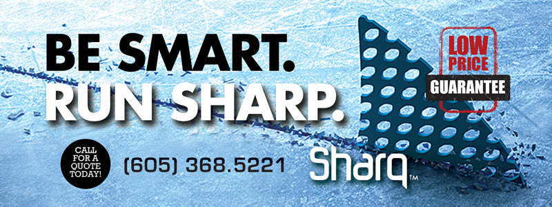 Be Smart. Run Sharp. Sharq Edges System