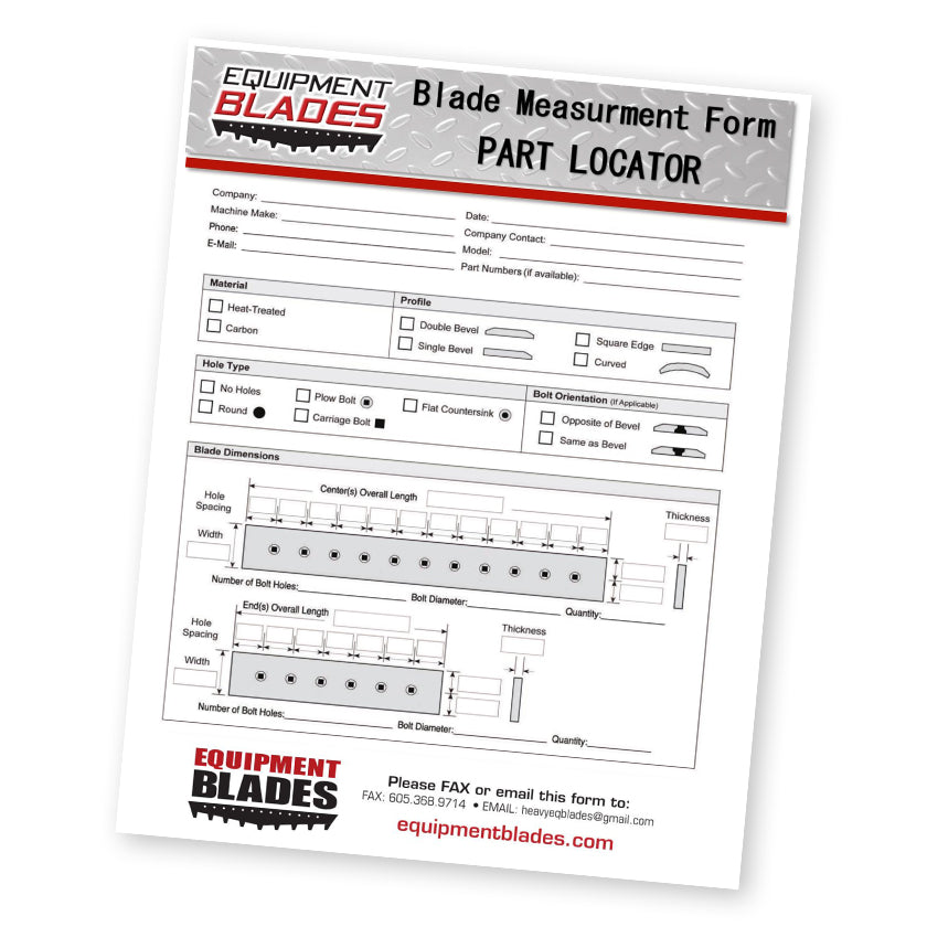 Part Locator Form