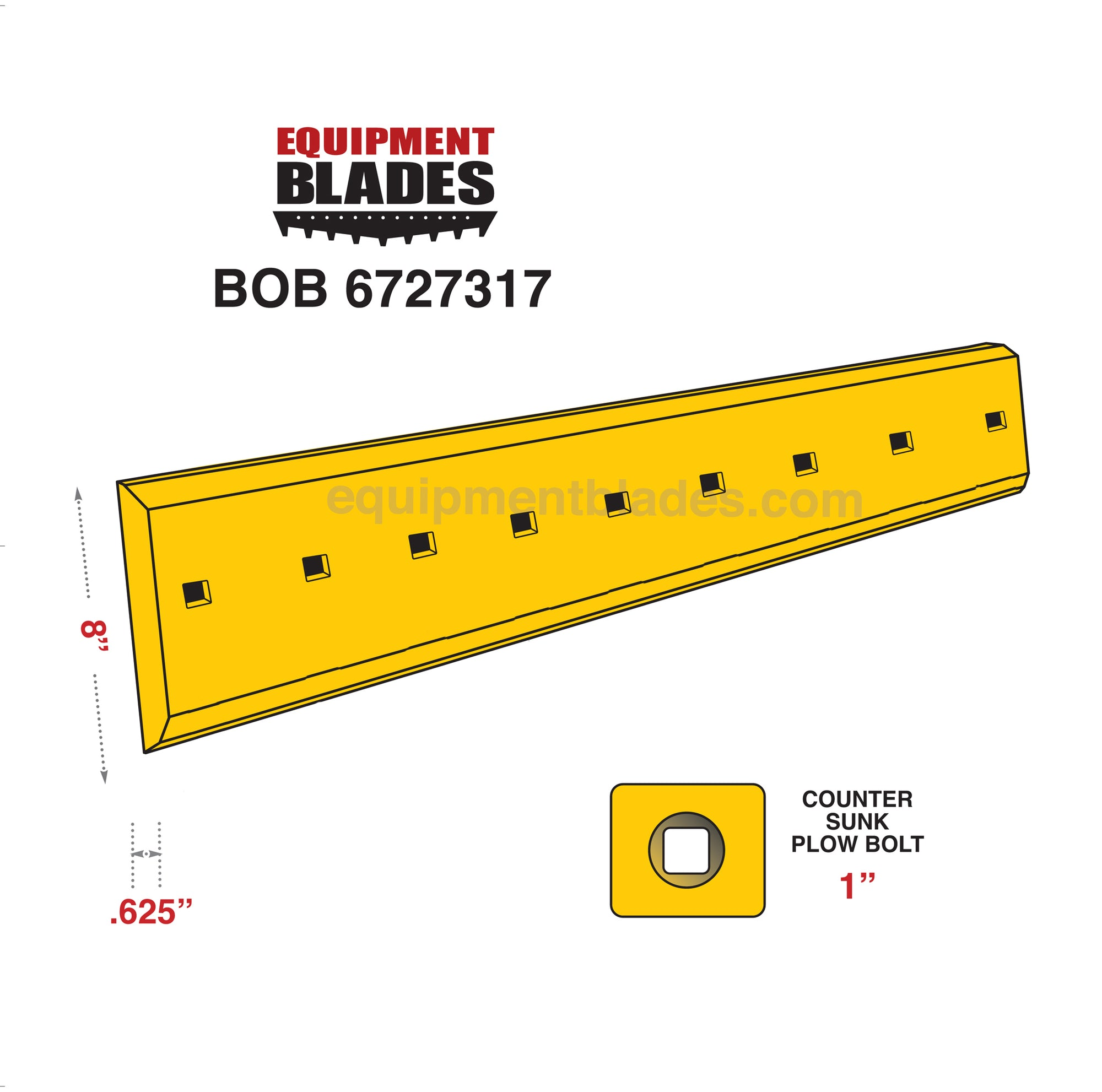 BOB 6727317-Equipment Blades-Equipment Blades Inc