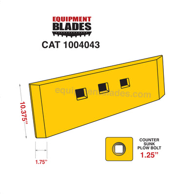 CAT 1004043-Loader Edge-Equipment Blades-Equipment Blades Inc