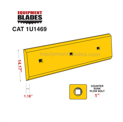 CAT 1U1469-Loader Edge-Equipment Blades-Equipment Blades Inc