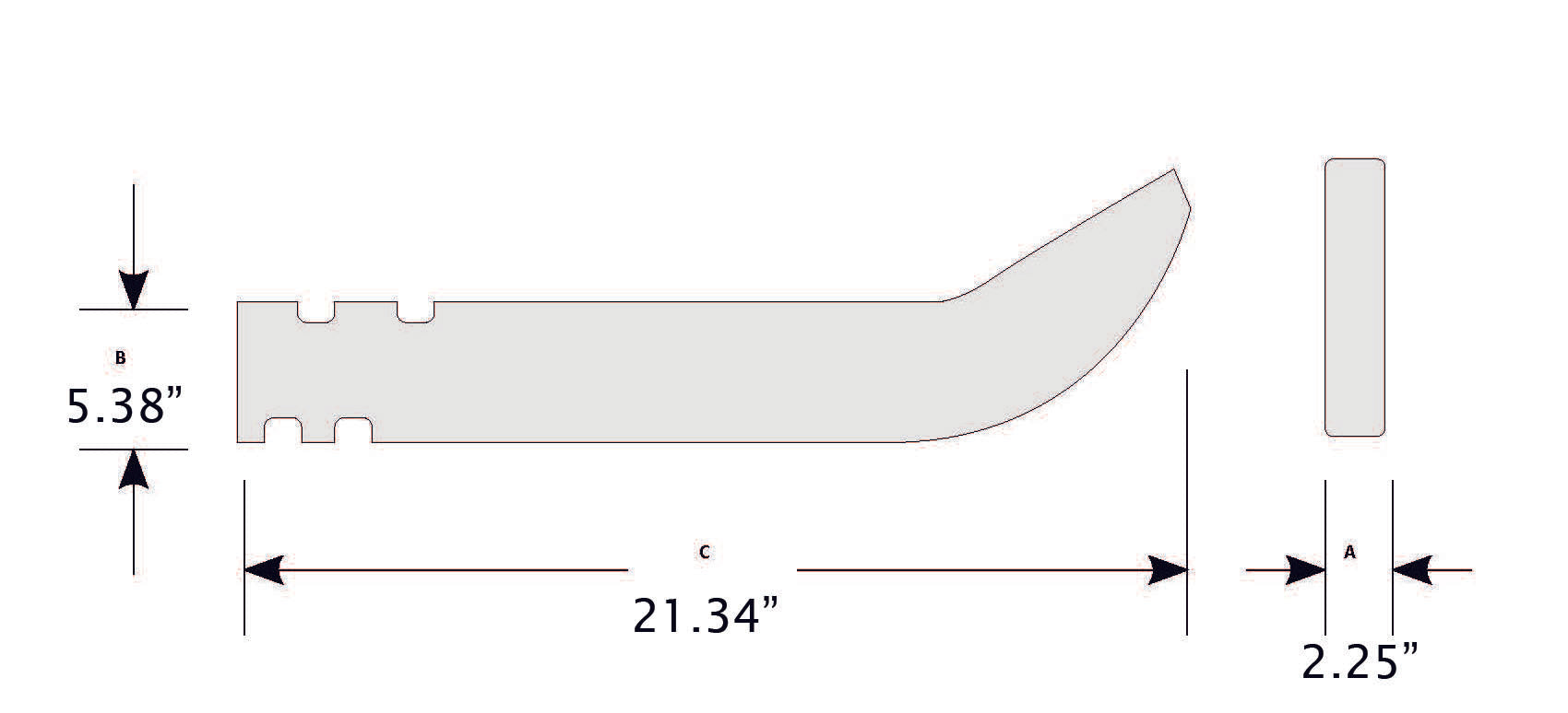 CAT 9J6586-Equipment Blades-Equipment Blades Inc