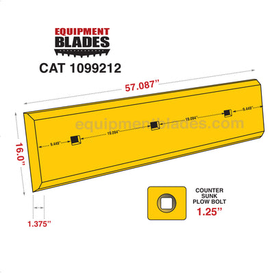 Cutting Edge Kit for CAT 980 Wheel Loader-Equipment Blades Inc-Equipment Blades Inc
