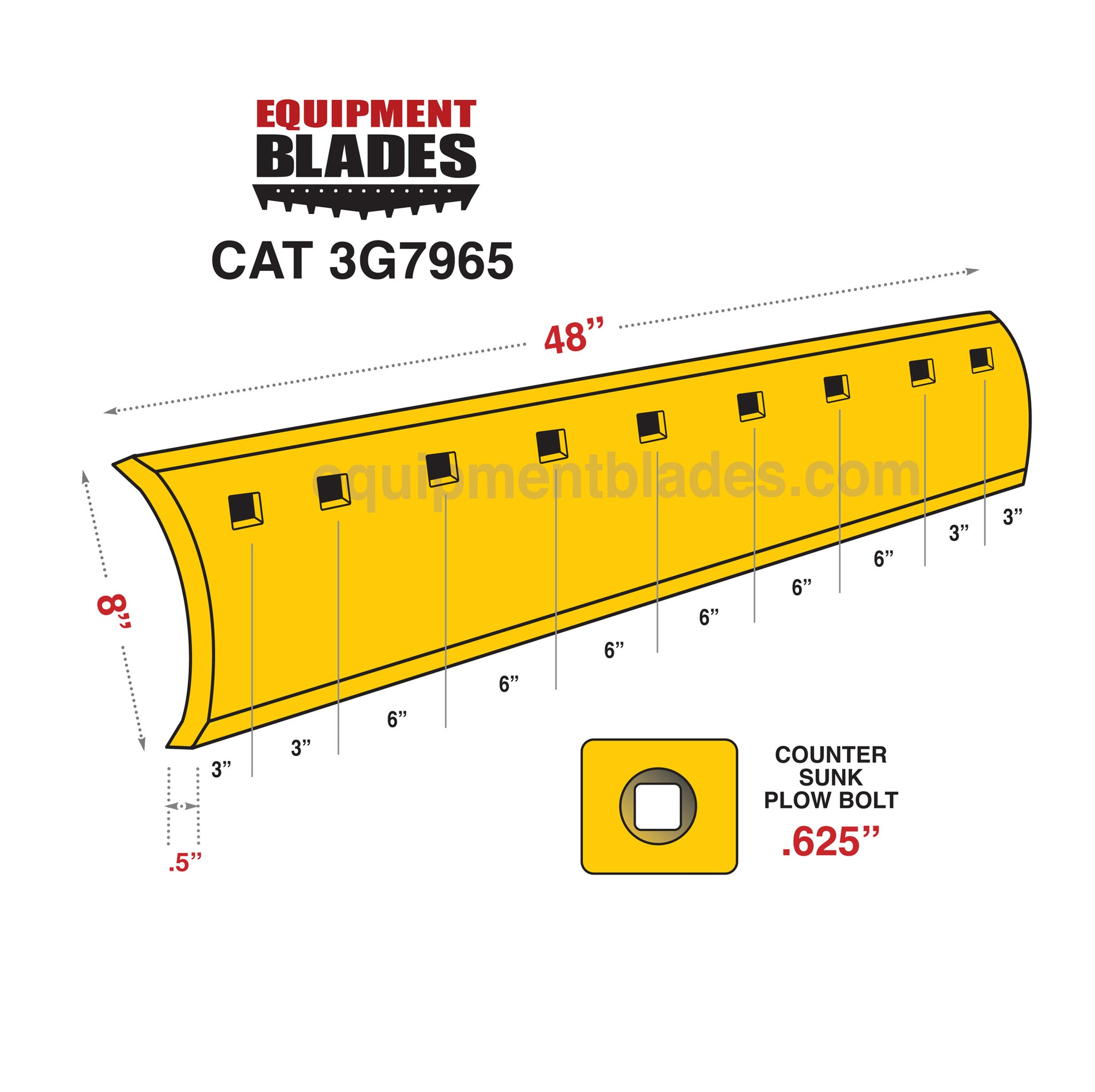 CAT 3G7965-Equipment Blades Inc-Equipment Blades Inc