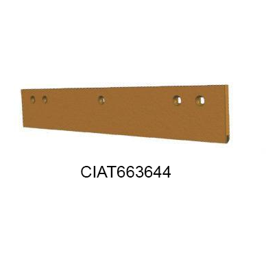 3FT SINGLE INSERT CARBIDE SNOW PLOW BLADE CIAT663644-Snow Plow Blades-Equipment Blades Inc-Equipment Blades Inc