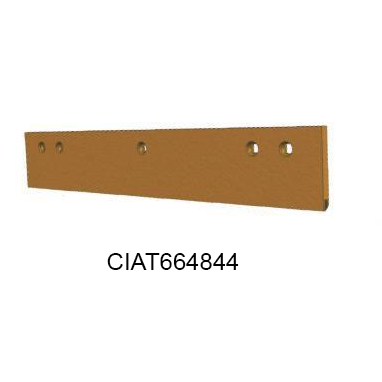 4FT SINGLE INSERT CARBIDE SNOW PLOW BLADE CIAT664844-Snow Plow Blades-Equipment Blades Inc-Equipment Blades Inc