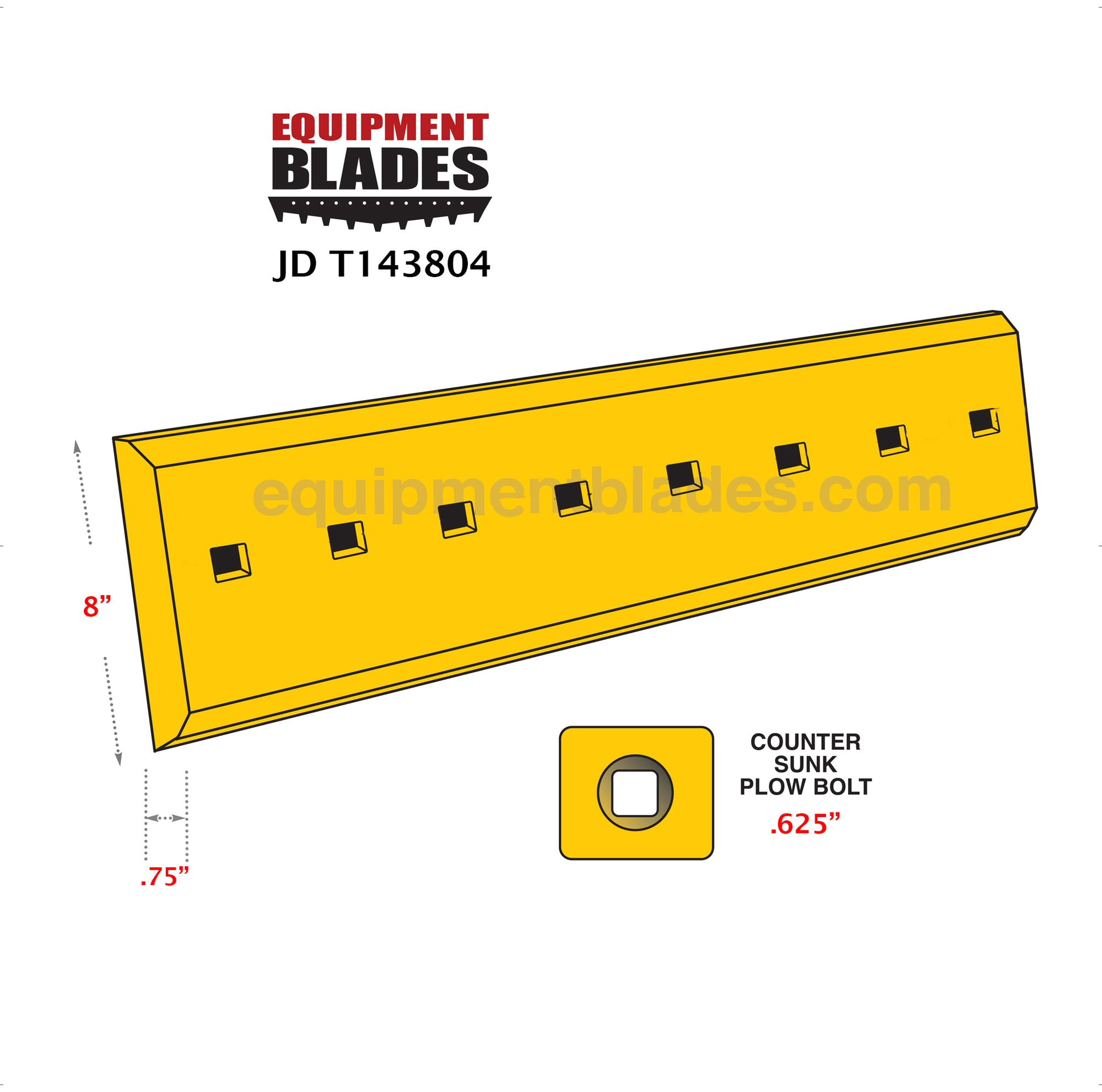 JD T143804-Equipment Blades-Equipment Blades Inc