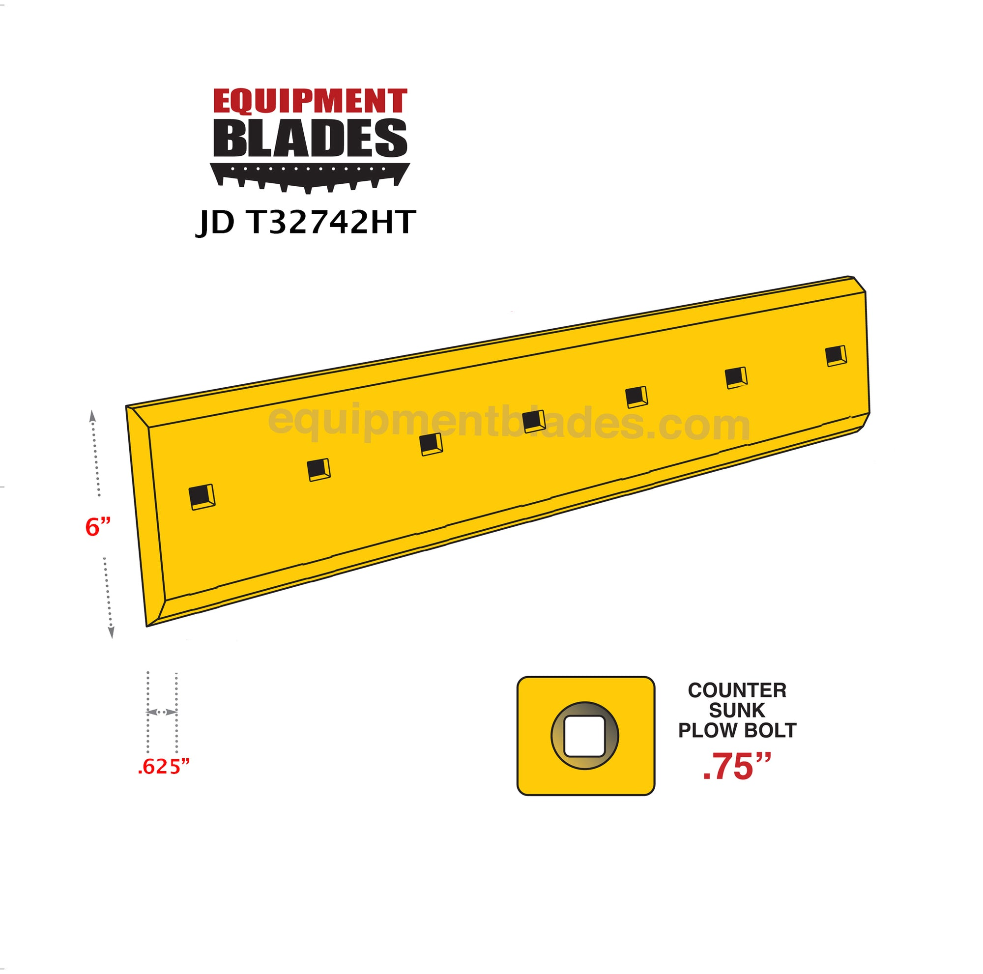 JD T32742-Equipment Blades-Equipment Blades Inc