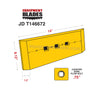 Kit for John Deere JD 544, Wheel Loader including cutting edges, Bolts and Nuts.-Equipment Blades Inc-Equipment Blades Inc