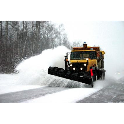 SNO-SHOCK 4FT CARBIDE SNOW PLOW BLADE - SSAD7648-Snow Plow Blades-Equipment Blades Inc-Equipment Blades Inc