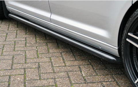 Genuine VW T5 T5.1 Black Stainless Steel Side Bars
