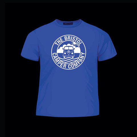 The Bristol Camper Company Children Blue Unisex T-Shirt