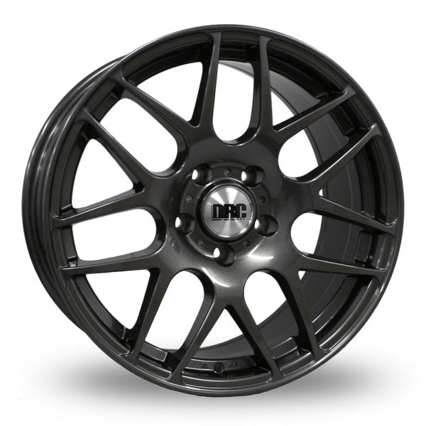 "VW T5 T6 18"" DRC DRM Winter Gunmetal Alloy Wheels"