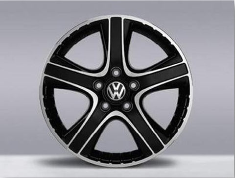 "Genuine VW 18"" ""Dakar"" Bi Colour Alloy Wheels"