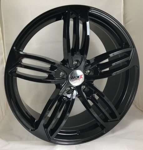 "VW T5 T5.1 T6 T6.1 20"" ""Fantom-R"" Gloss Black Alloy Wheels"