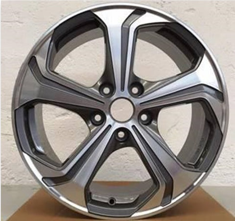 "Genuine VW ""Sportline"" 18"" Bi-Colour Alloy Wheels"