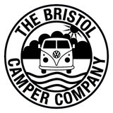 The Bristol Camper Company Small Vinyl Stickers