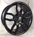 "VW T5 T5.1 T6 T6.1 18"" ""Turismo"" All Black Alloy Wheels"