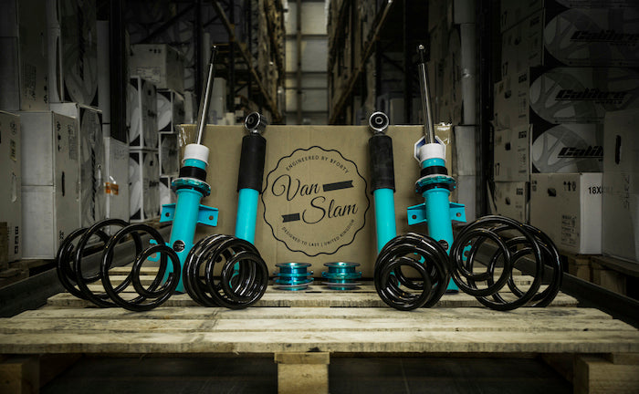 VANSLAM coilover kits