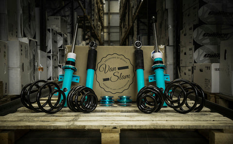 VW T5/T5.1/T6 Vanslam Coilover Kit