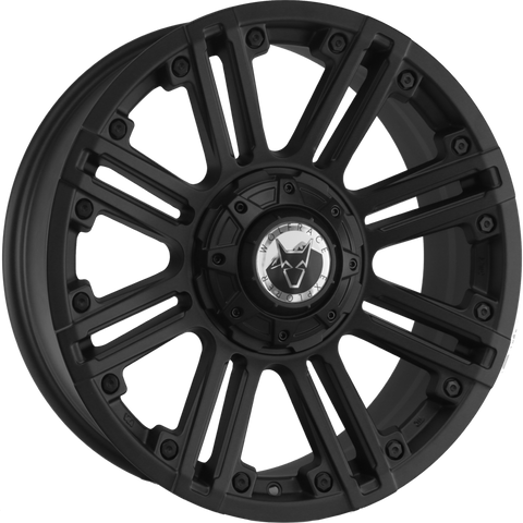 "VW T5 T5.1 T6 T6.1 18"" ""Amazon"" Matt Black Alloy Wheels"