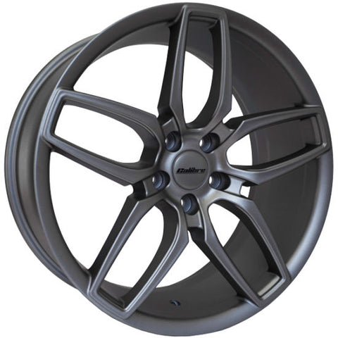 "VW T5 T5.1 T6 T6.1 Calibre ""CC-U"" 20"" Gunmetal Alloy Wheels"