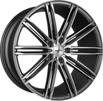 "VW T5 T6 Calibre ""CC-I"" 20"" Gunmetal Alloy Wheels"