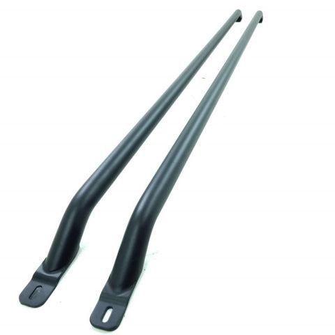 Ford Transit Custom SWB Black Powder Coated Roof Rails