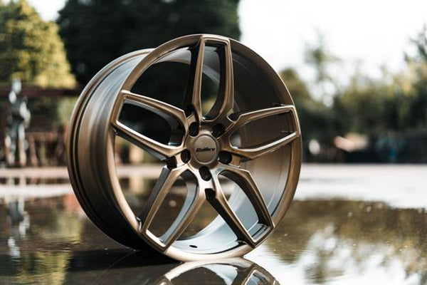 "VW T5 T6 Calibre ""CC-U"" 20"" Bronze Alloy Wheels"