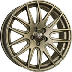 "VW T5 T5.1 T6 T6.1 20"" ""Munich"" Bronze Alloy Wheels"