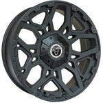 "VW T5 T6 17"" ""Sahara"" Matt Black Alloy Wheels"