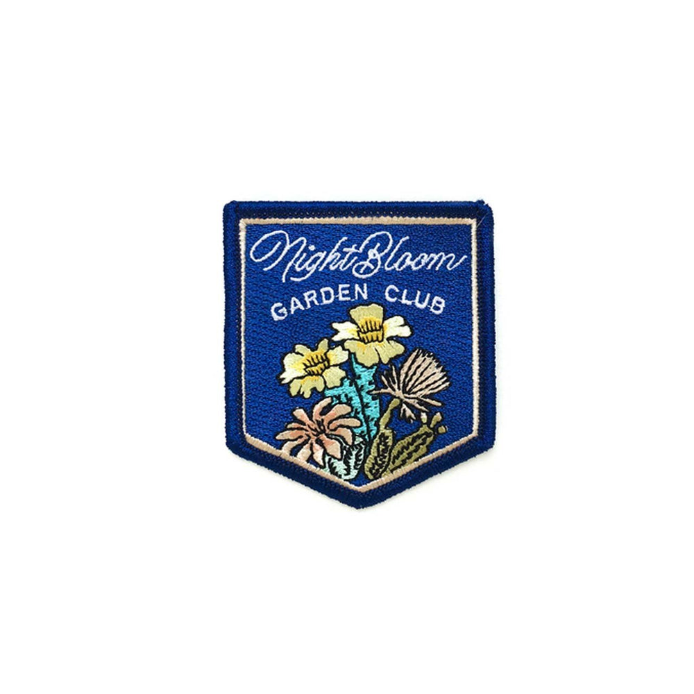 Antiquaria Night Bloom Garden Society Patch