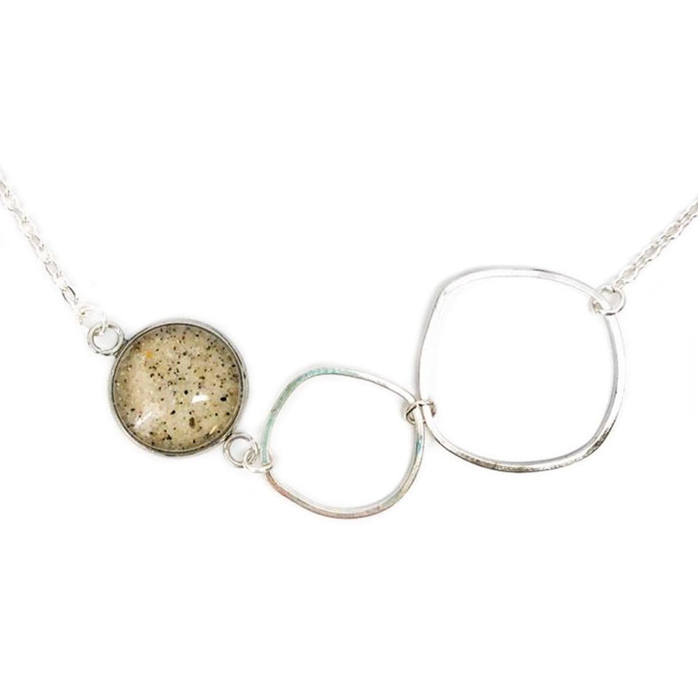 Artisan Sand Hoop Necklace Beachdashery® Jewelry