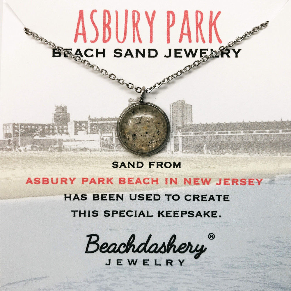 Asbury Park  Beach New Jersey Sand Jewelry Beachdashery