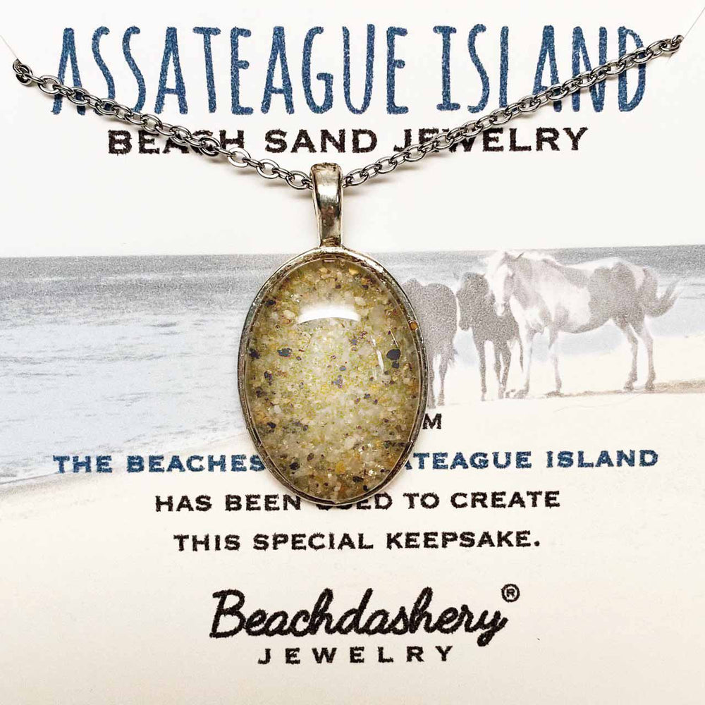 Load image into Gallery viewer, Assateague Island Virginia Sand Jewelry Beachdashery