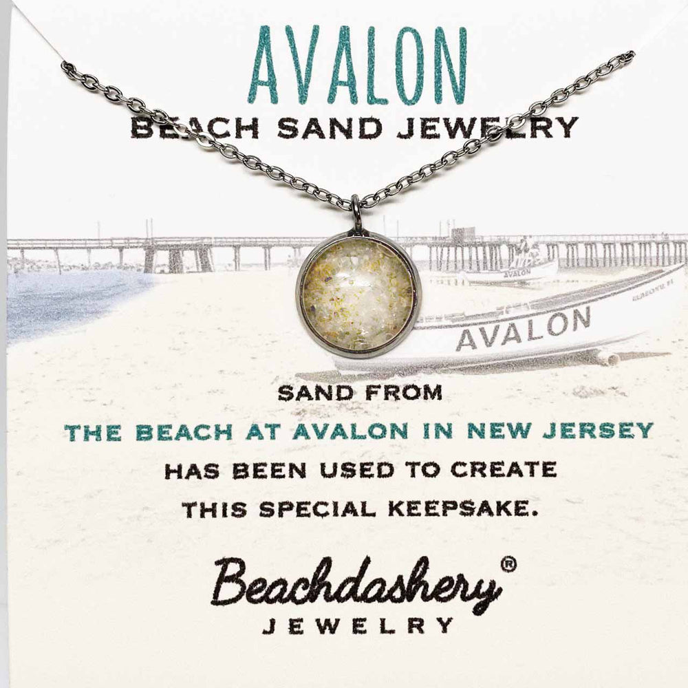 Avalon Beach New Jersey Sand Jewelry Beachdashery