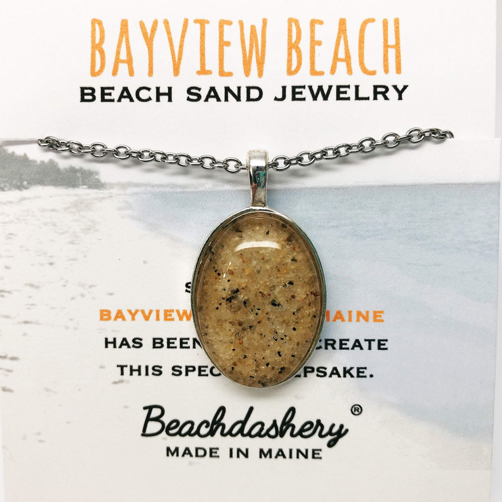 Bayview Beach Maine Sand Jewelry