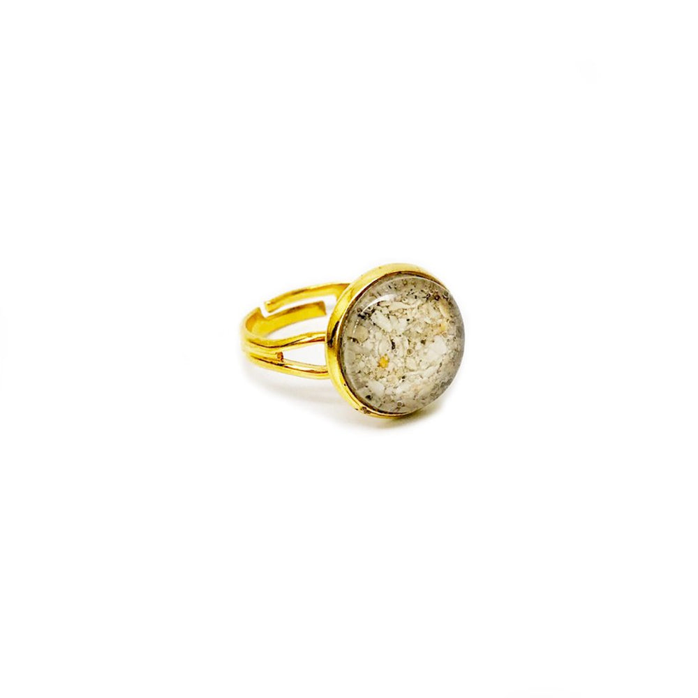 Beach Sand Adjustable Ring in Gold Beachdashery® Jewelry