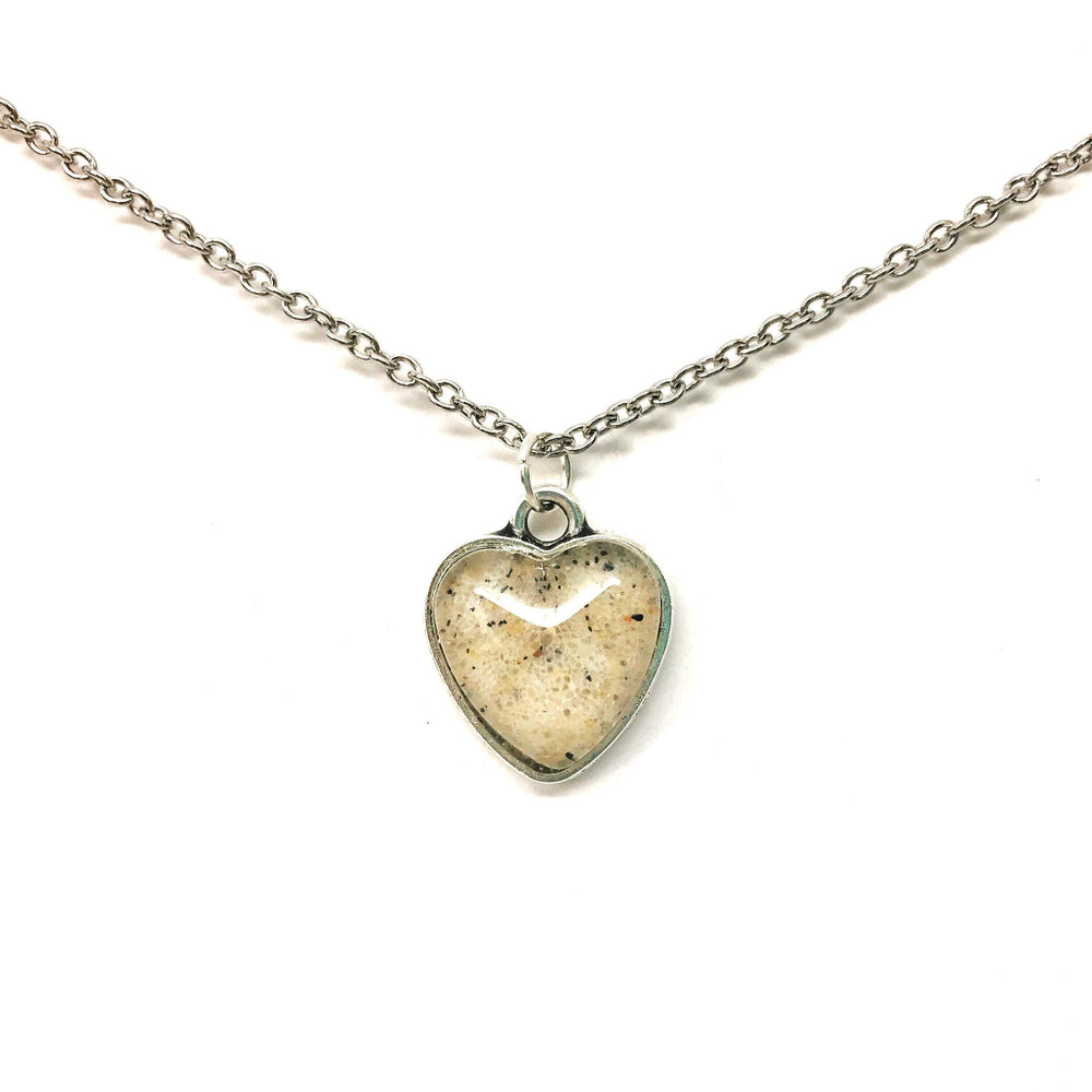 Beach Sand Heart Necklace Beachdashery® Jewelry