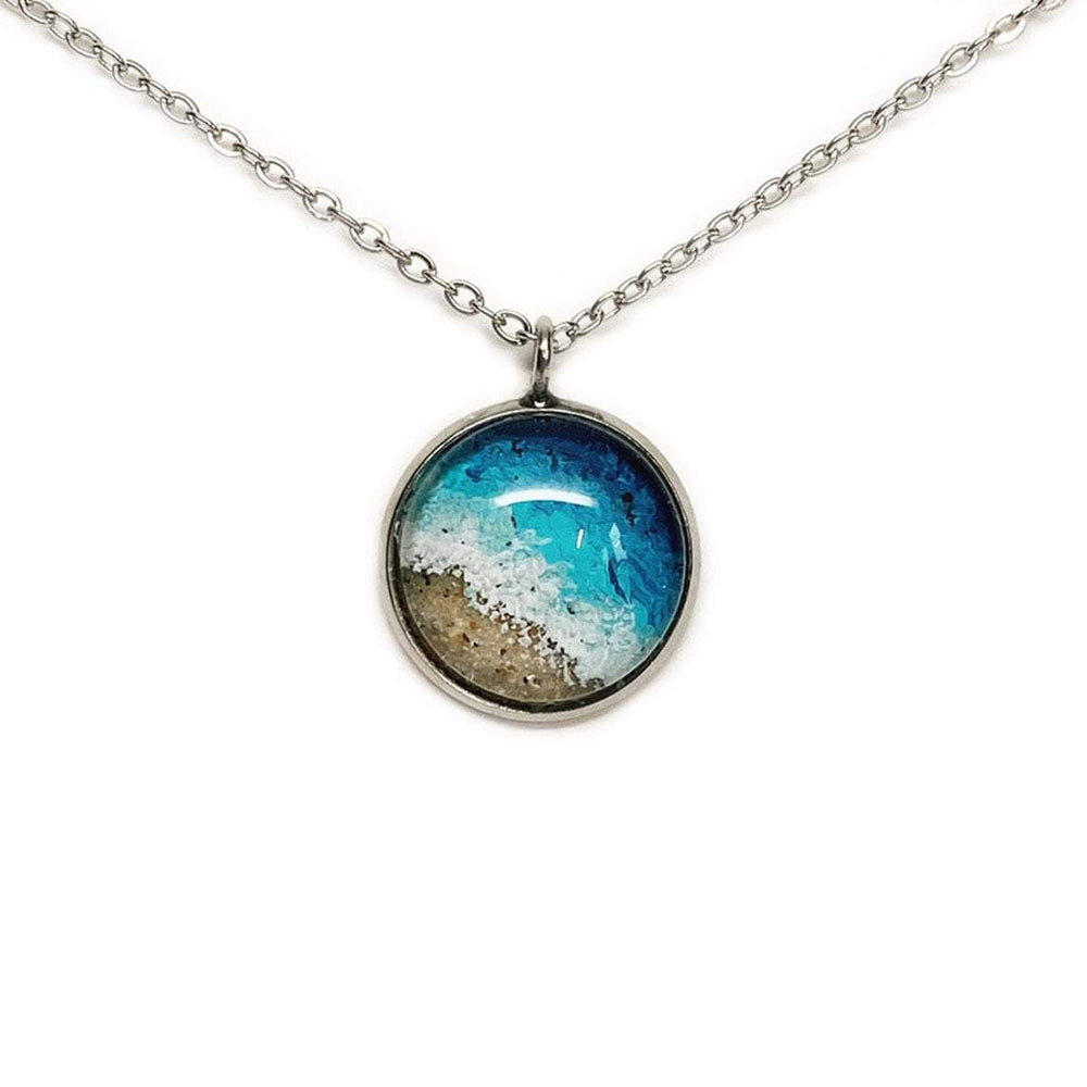 Load image into Gallery viewer, Beach Sand Jewelry in Deep Sea Wash Beachdashery Jewelry