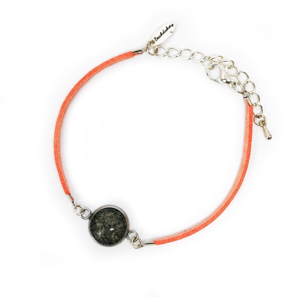 Beach Sand Suede Bracelet in Coral Beachdashery® Jewelry