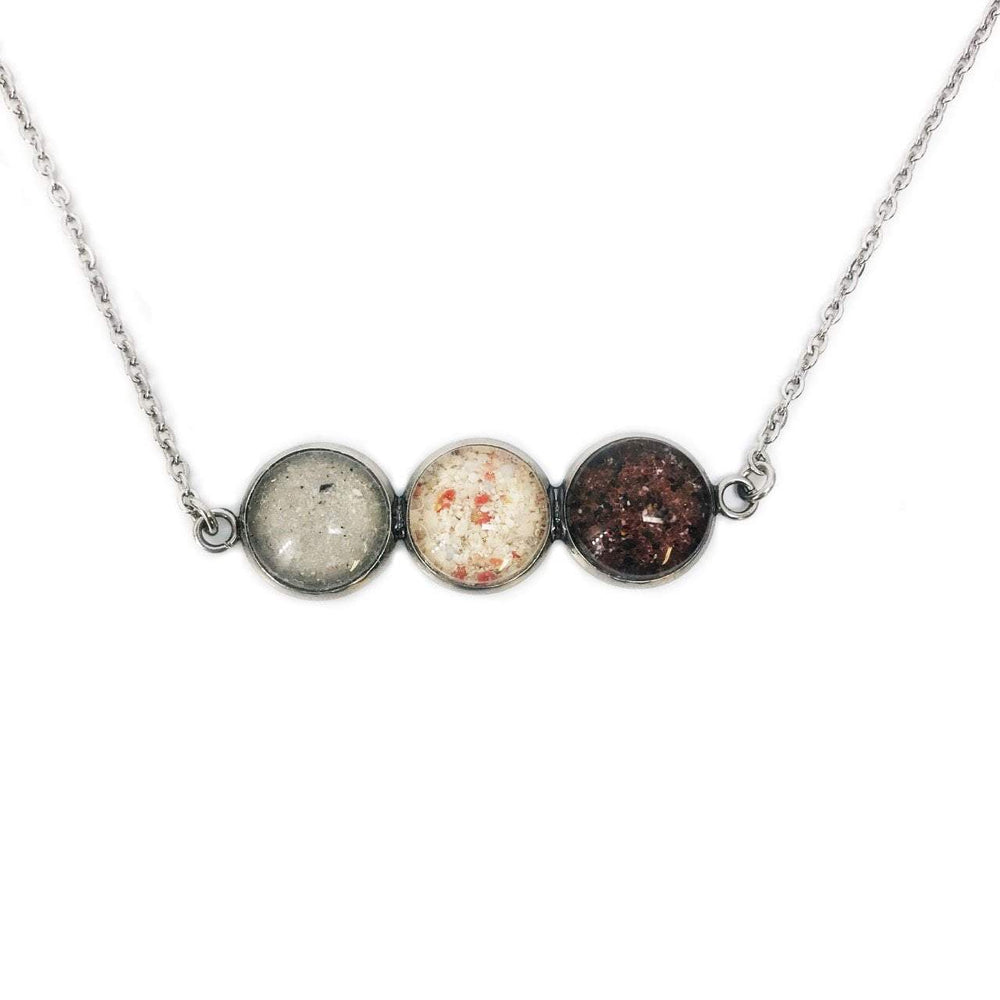Beach Sand Triple Bar Necklace Beachdashery® Jewelry