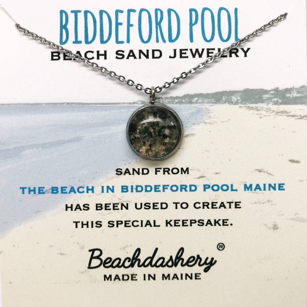 Biddeford Pool Maine Sand Jewelry