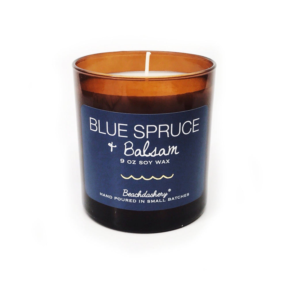 Blue Spruce and Balsam Soy Candle Beachdashery® Jewelry