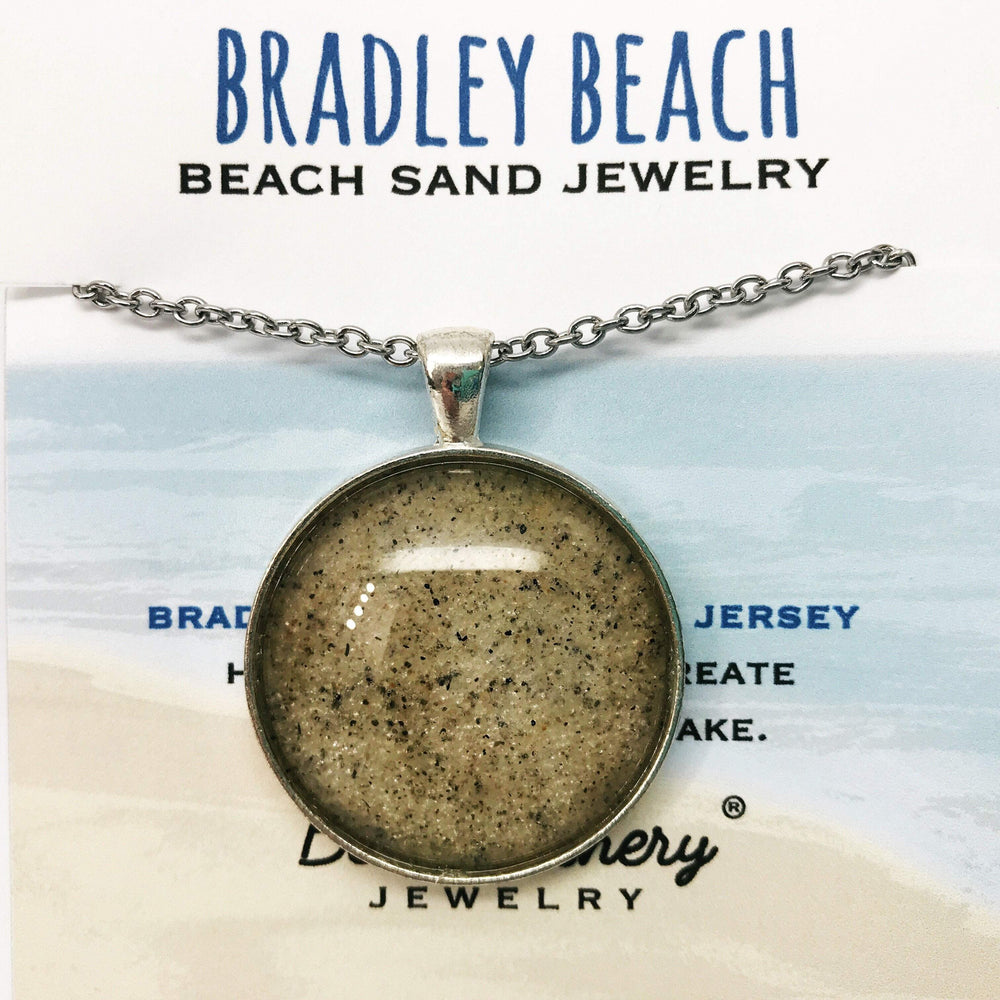 Load image into Gallery viewer, Bradley Beach New Jersey Sand Jewelry Beachdashery