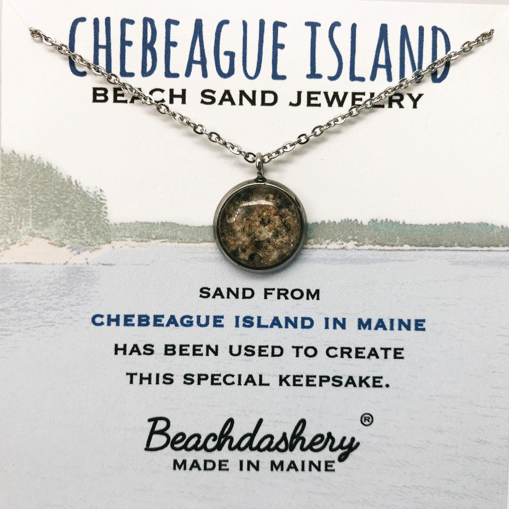 Chebeague Island Maine Beach Sand Jewelry