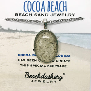 Load image into Gallery viewer, Cocoa Beach Florida Sand Jewelry Beachdashery