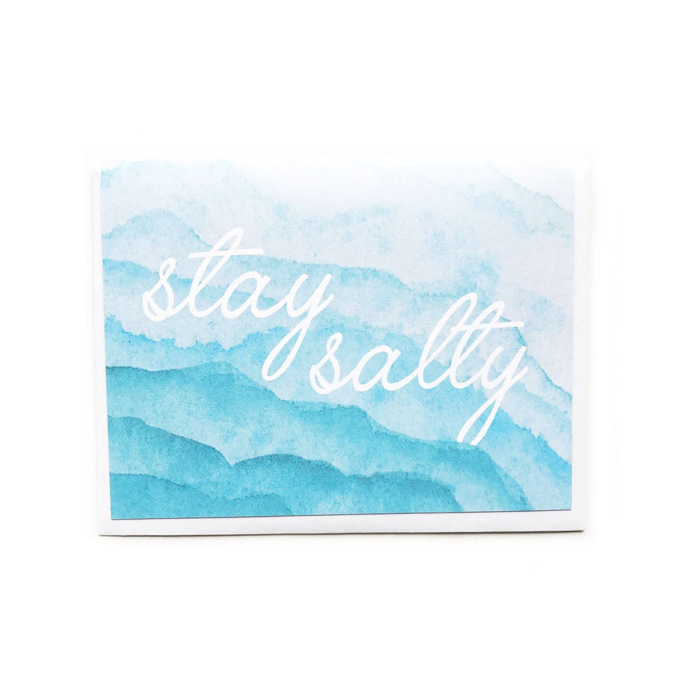 Cunning Co Stay Salty Card Beachdashery® Jewelry